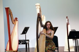 Hannah de Almeida captured 1st Prize (Grade 6) in 2013 Toronto Harp Society Scholarship Audition. She scored 84% First Class Honours for her Grade 6 RCM Exam. Hannah has performed with the Harp Sinfonia.