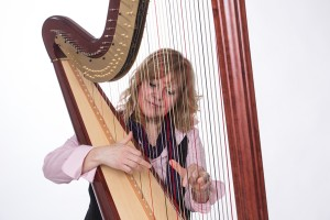 Shelley, school teacher, enjoys sharing her passion for the harp by performing for her church, weddings and various settings on both her lever and pedal harps. She has recently become a certified Music Practitioner to provide soothing music for the sick, dying and their families.