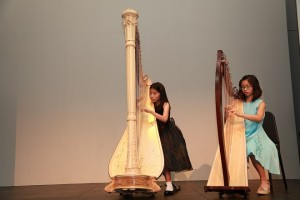 Rin and Caralynn in duet in Summer Gathering Concert 2013.
