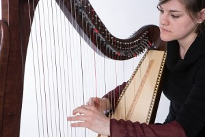 Leah, PhD student of Medieval studies, finds the fascinating history and soulful music of the harp match her passion and interests.