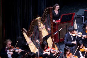 Steven Chuo, assisted his teacher as Second Harp, in performance of Das Lied Von Der Erde by Mahler with Kindred Spirits Orchestra.