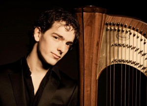Remy van Kesteren, winner of USA International Harp Competition; artistic director, Dutch Harp Festival.