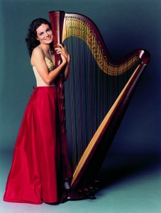 Letizia Belmondo, multiple prize-winner, international Italian harpist.