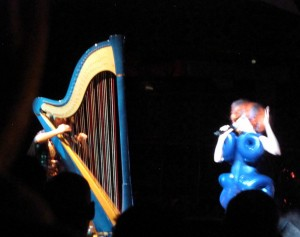 Bjork, Iceland's singer song-writer, uses the harp in her music for its unique sonority. Watch:   Aurora
