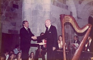 Pierre Jamet, legendary pedagogue, Paris Conservatory of Music.