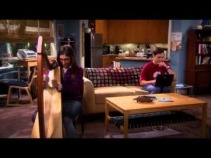 The harp is featured in the popular American sitcom, Big Band Theory, played by Amy Farrah Fowler. Watch: Excerpts