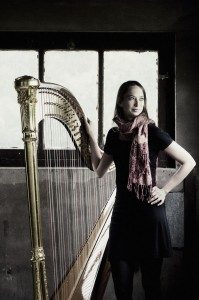 Gwyneth Wentink of the Netherlands, winner of Israel International Harp Contest.