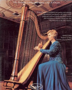 Kathleen Bride, Professor of Harp, Eastman School of Music USA.