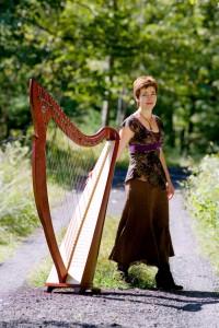 Kim Robertson, Celtic harpist USA.