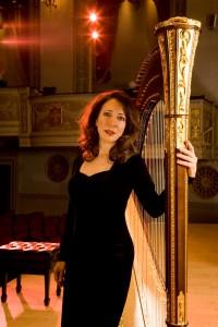 Patricia Masri Fletcher, Principal Harpist, Detroit Symphony.