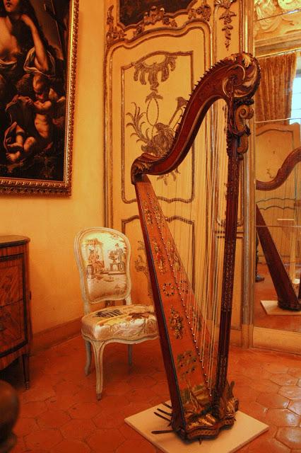 Harpe du palais Lascaris