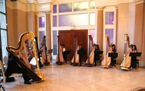 Harp Sinfonia performs at the Liberty Grand for the Toronto Concert Orchestra Gala 2016
