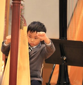Luc Hung gave his debut at the Annual Concert 2016 performing two of his favourite solos, as well as taking part in the Twinkle Twinkle Ensemble.