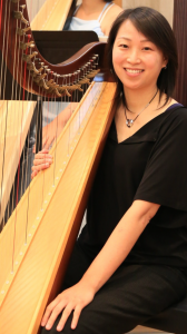 Diana, educator, studied piano in childhood but has always wanted to play the harp. Now she does after developing a successful career, and her son takes harp lessons too!