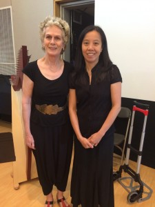 Carol and Man Lan enjoyed playing in Harp Orchestra together in Annual Concert 2016.
