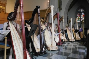 Harp Orchestra in Performance (2014)