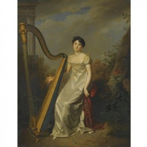 Empress Josephine of France, was an accomplished harpist.