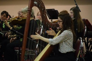 "Sophie Andrade was featured as a special guest by the Guelph Celtic Orchestra, performing her own arrangement of ""Muriel's Waltz""."